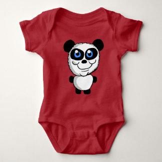 Body Para Bebê Desenhos animados bonitos do urso de panda