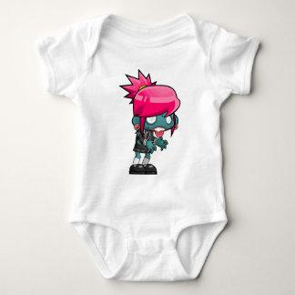 Body Para Bebê Desenhos animados da menina do zombi