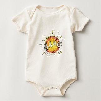 Body Para Bebê Desenhos animados do golpe da explosão
