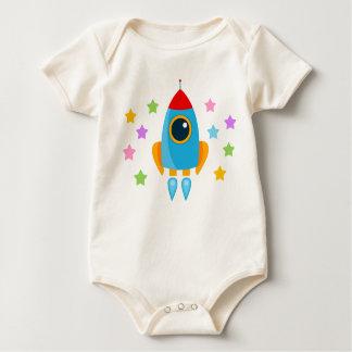 Body Para Bebê Desenhos animados Rocket
