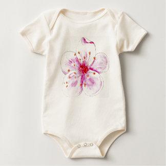 Body Para Bebê desenhos de flor