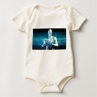 Body Para Bebê Desenvolvimento do design de engenharia