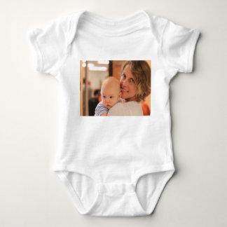 Body Para Bebê Desgaste feito sob encomenda do bebê da foto