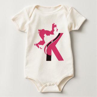 Body Para Bebê Design BMI do logotipo da coroa K