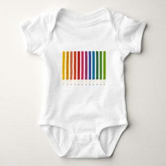 Body Para Bebê Design bonito dos pastels dos miúdos