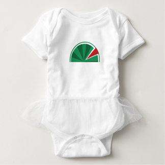 Body Para Bebê design da melancia