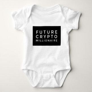 Body Para Bebê Design de bloco grande do bebê cripto futuro do