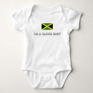 Body Para Bebê Design de Jamaica