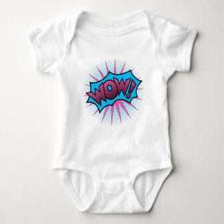Body Para Bebê Design de texto do wow