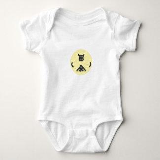 Body Para Bebê Design de vista asiático