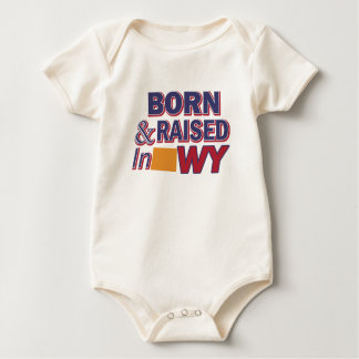 Body Para Bebê Design de Wyoming
