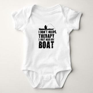 Body Para Bebê design do barco bonito
