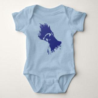 Body Para Bebê Design do cabelo