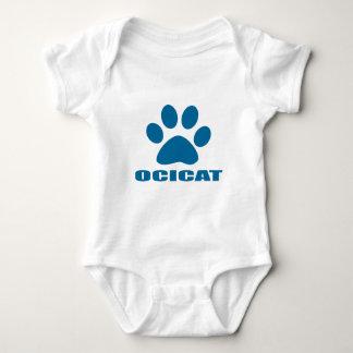 BODY PARA BEBÊ DESIGN DO CAT DE OCICAT
