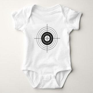 Body Para Bebê design do círculo do alvo