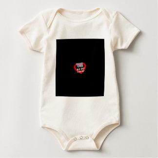 Body Para Bebê Design do coração da vela para o estado de Montana