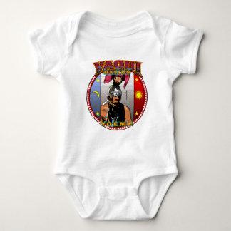 Body Para Bebê Design do dançarino dos cervos de Yaqui Yeome