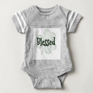 Body Para Bebê Design do dia de St Patrick abençoado