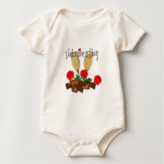 Body Para Bebê Design do dia dos namorados