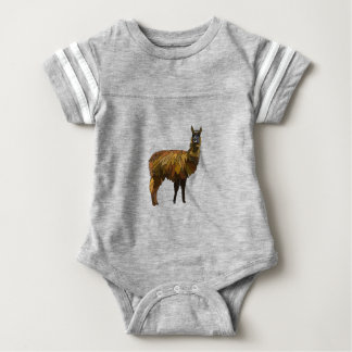 Body Para Bebê Design do geo do lama