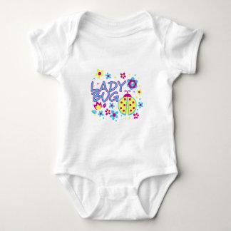 Body Para Bebê Design do inseto da senhora