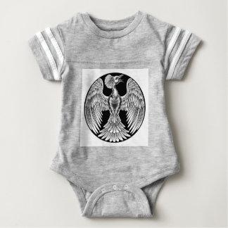 Body Para Bebê Design do pássaro do fogo de Phoenix