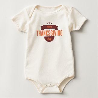Body Para Bebê Design feliz do dia da acção de graças