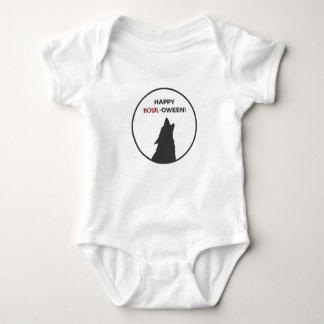 Body Para Bebê Design feliz do Dia das Bruxas do homem-lobo do