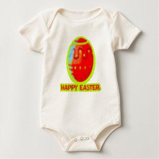 Body Para Bebê design gráfico doce do felz pascoa