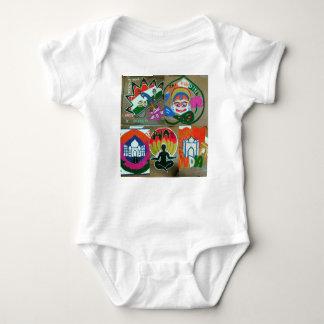 Body Para Bebê Design indiano étnico