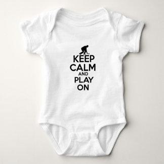 Body Para Bebê Design legal do vetor dos esportes