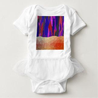Body Para Bebê Design Pastel colorido abstrato do olhar