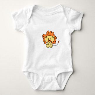 Body Para Bebê Design pequeno do leão