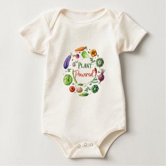 Body Para Bebê Design Planta-Psto