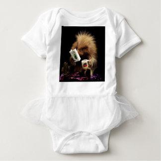 Body Para Bebê Desobediência civil da mascote do porco- do