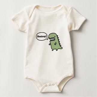 Body Para Bebê Destrua!