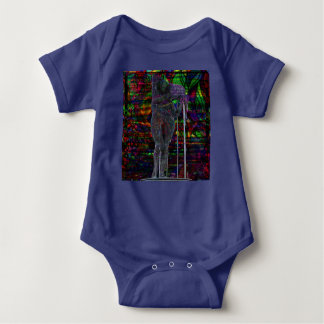 Body Para Bebê Deusa abstrata do Aquário