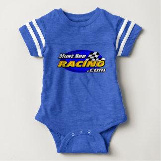 Body Para Bebê Deve ver o bebê do fã de competência