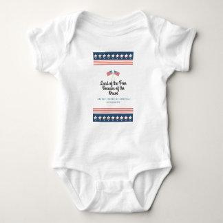 Body Para Bebê Devido ao bravo