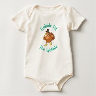 Body Para Bebê Devore até que você acção de graças Turquia do