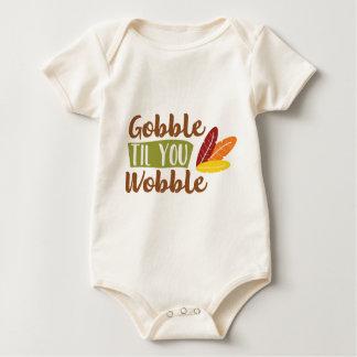 Body Para Bebê Devore até que você balanç