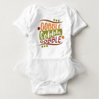 Body Para Bebê Devore devoram devoram o design da acção de graças