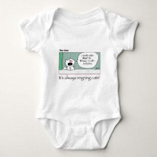 Body Para Bebê Dez gatos - a - lírio pelo grahamharrop