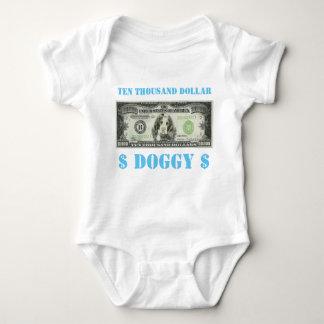 Body Para Bebê Dez mil bebês do Doggy do dólar crescem