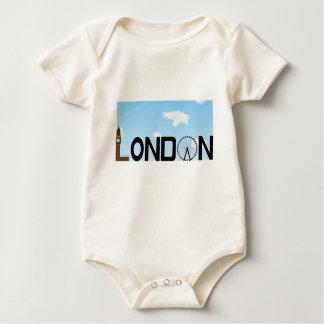 Body Para Bebê Dia da skyline de Londres