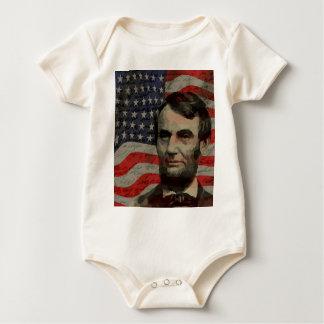 Body Para Bebê Dia de Lincoln