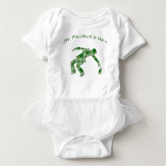 Body Para Bebê Dia do St. Patricks
