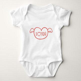 Body Para Bebê Dia dos namorados