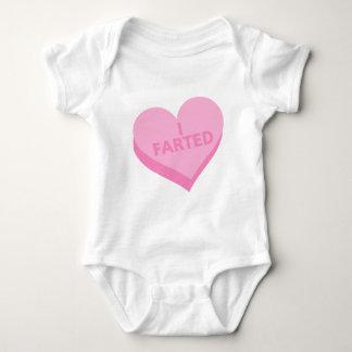 Body Para Bebê Dia dos namorados do bebê