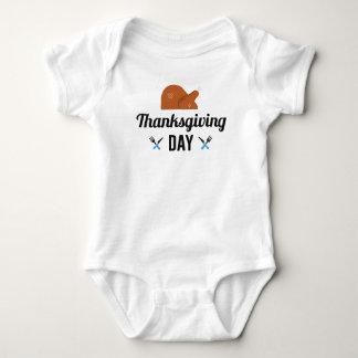 Body Para Bebê Dia feliz Turquia da acção de graças